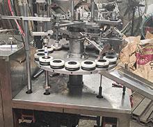 最新的铝管折尾半自动封尾机